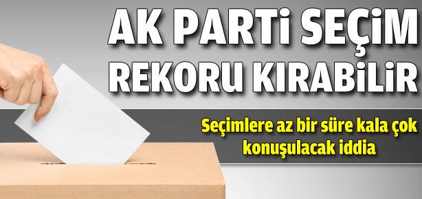 AK Parti seçim rekoru kırabilir