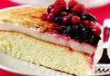 Muhallebili Ve Meyveli Pasta Tarifi