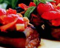 Domatesli patlıcan Tarifi