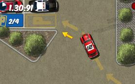 Spor araba park etme