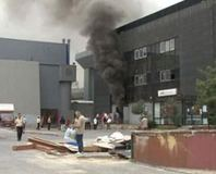 CNR Fuar Merkezi'nde yang�n pani�i