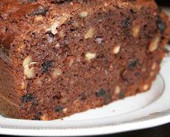 Ilık Çikolatalı Kestaneli Kek Tarifi