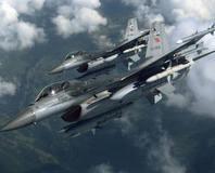 Türk F-16'lar�n gizli provas�