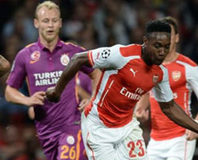 Arsenal - G.Saray maç� Twitter'� sallad�