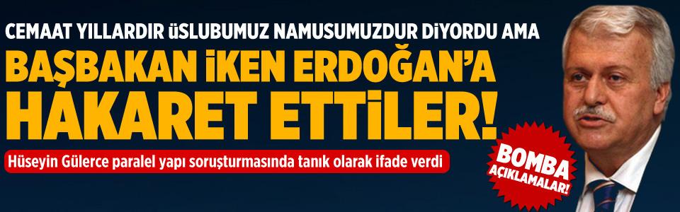 """""""Erdo�an'a hakaret ettiler"""""""