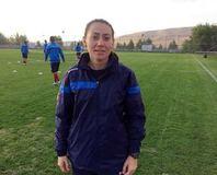 Elaz��spor'a bayan antrenör