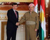 Davuto�lu ve Barzani bir araya geldi