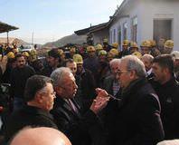 Maden sahibi CHP'lileri kovdu