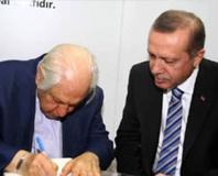 Cumhurba�kan� Erdo�an TÜRGEV�i ziyaret etti