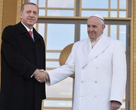 Papa Franciscus Türkiye'de