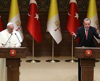 Erdo�an ve Papa'dan ortak aç�klama