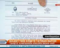 Gülen'i ters kö�eye yat�ran rapor