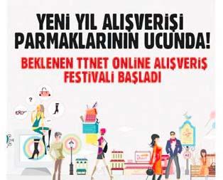 TTNETten Online Alışveriş Festivali
