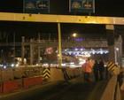 FSM'de 4 şerit trafiğe kapatıldı