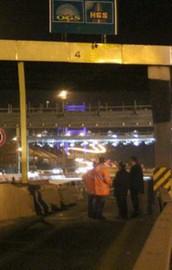 FSMde 4 şerit trafiğe kapatıldı