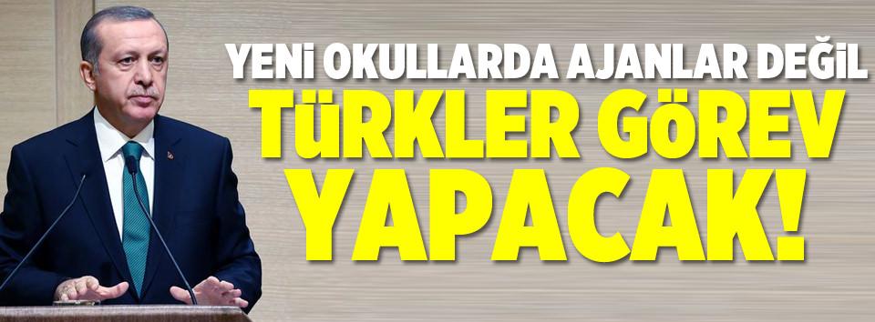 Sözde değil özde Türk okulu