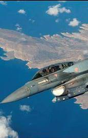 Yunan askeri uçağı düştü!