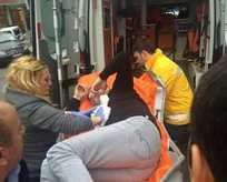 İstanbulda bir iş merkezine silahlı baskın