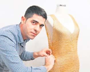 350 bin liralık altın elbise 18 tane sattı