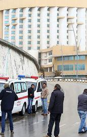 Türklerin kaldığı otele silahlı baskın