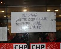 İşçiler CHP İl Binasını bastı!
