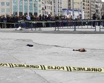 Taksimde polise silahlı saldırı!