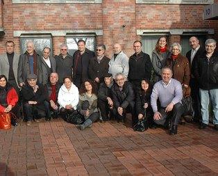 Türk sanatçılar Bremen meclisini gezdi