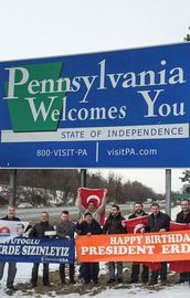 Pensilvanyada doğum günü kutlaması