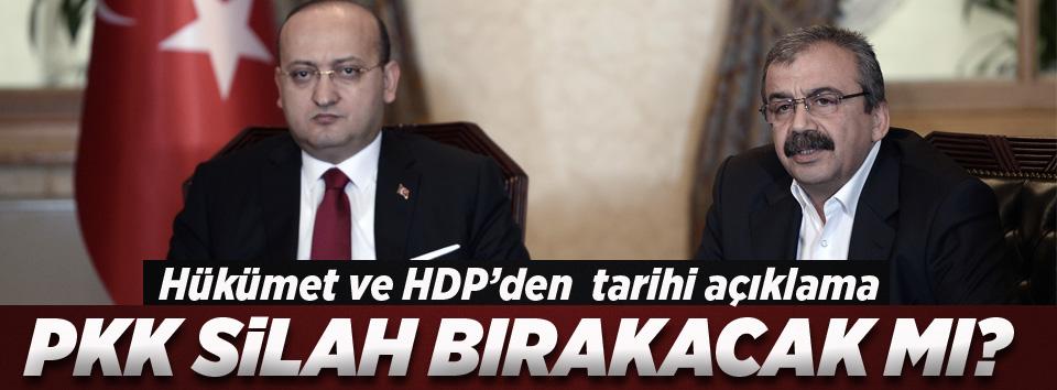 PKK silah bırakıyor mu?