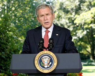 Bush'a Venezuela yasağı