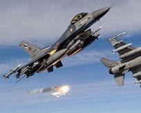 F-16lar vur emriyle havalandı!