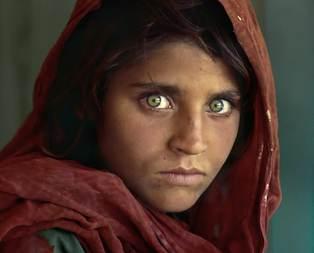 İşte Afgan kızı Şerbet Gulanın değişimi