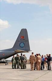 Türk uçakları Bağdatta