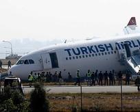 THY uçağı pistten çıktı