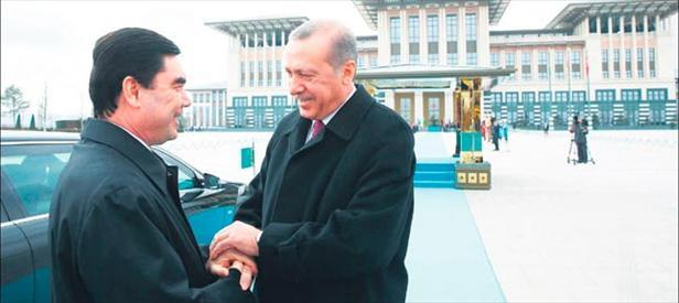 Avrupaya Türkmen gazı