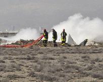 Konyada askeri uçak düştü: 2 şehit