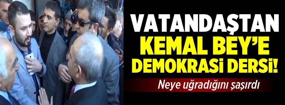 Konyada Kılıçdaroğluna demokrasi dersi!