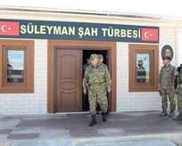 Süleyman Şaha ilk ziyaretçi sürprizi