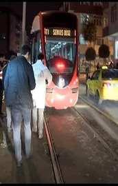 Suriyeli çocuk tramvayın altında can verdi