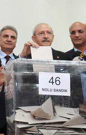 CHPde ön seçime katılım yüzde 55 oldu