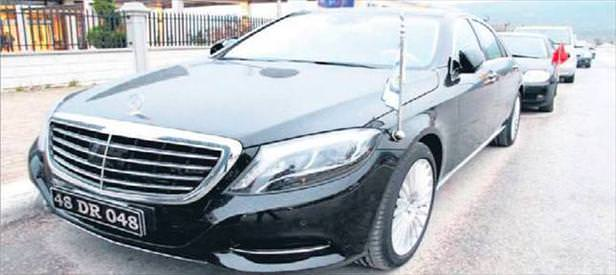 Engelliye para yok başkana Mercedes var