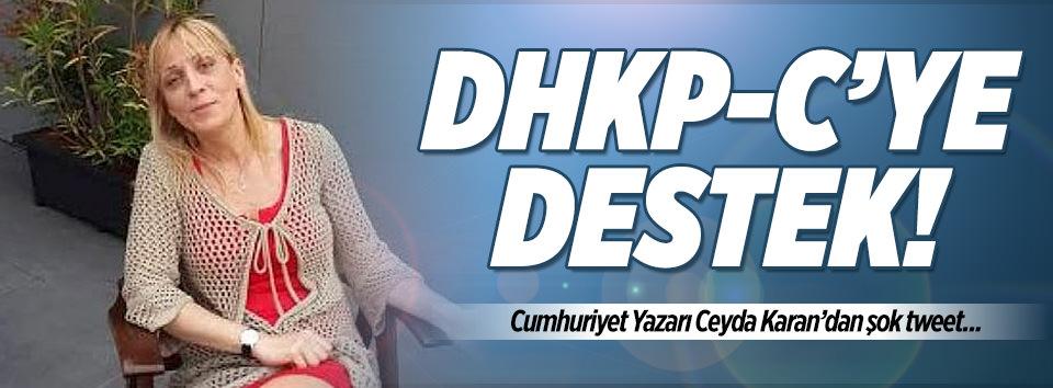 Cumhuriyet yazarından DHKP-Cye destek!