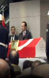 Savcı Kiraz için adliyede tören düzenlendi