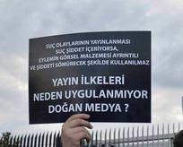 Aydın Doğana büyük protesto!