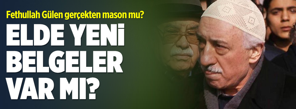 Fethullah Gülen mason mu?