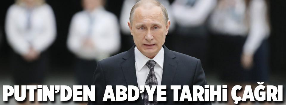 Putinden tarihi çağrı