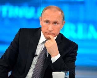 Putinden sıcak mesaj