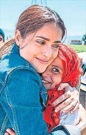 Suriyeli çocukları unutmadı