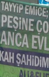 Erdoğanın konuşması öncesi renkli görüntüler