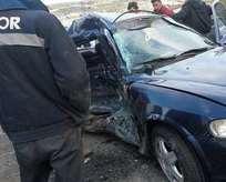 Kütahyada trafik kazası: 13 yaralı